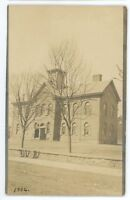 RPPC School in BLOOMSBURG PA Columbia County Pennsylvania Real Photo Postcard
