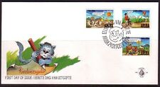 FDC Aruba E66. Kinderzegels 1996.