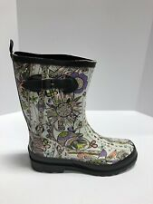Sakroots Ringo Womens Rain Boots Pastel Sd US10 M