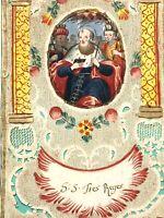 Canivet XVIII ème Siècle Image Religieuse Dévotion 18 ème