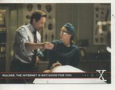 """The X-Files Season 10 """"Were-Monster"""" DOUBLE-SIDED Promo Trading Card No.1"""