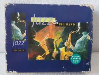 Rare Collectable 4 Cassette Tape Set Box Jazz & Big Bands Vintage 1996 Working