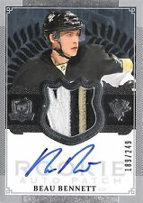 Beau Bennett 2013-14 The Cup Autograph & 3-Color Patch 189/249 Rookie Auto RC