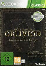 XBOX 360 Oblivion GOTY EDITION + Addons tedesco perfetto