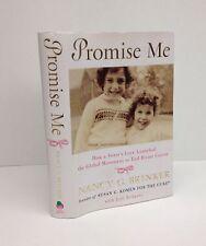 Promise Me-Nancy G. Brinker-SIGNED TWICE!!-Founder Susan G. Komen Cure-First/1st