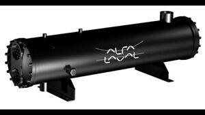Shell and Tube Condenser, Alfa Laval, CUS 5, Heat Exchanger