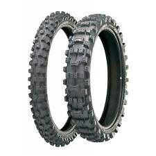 Michelin Ac 10 camino legal Motocross Neumáticos Par, 80/100/21 frontal y 120/90/18 Trasero