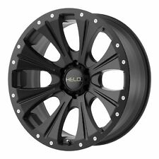 "Helo 18x9 HE901 Wheel Satin Black 6x135 PCD +18mm Offset 5.71""BS"