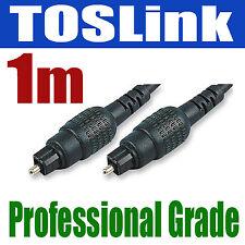 1m Toslink Câble plomb | audio numérique spdif fibre | 881