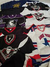 New listing Collection of 9 Men's League Xl Hockey Jerseys and 2 pairs of Reebok socks