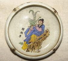 Alte Markierte Chinesisch Porzellan Dosen / Töpfe, mit Silber Dekoration #1016