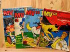 Walt Disneys Mickyvision - Konvolut 4 Hefte - Nr. 9 , 14, 16 , 19 - 1968 (A128)