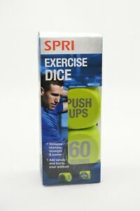 Spri Excise Dice with Push Ups Lunges and Crunches Workout Increase Stamina Fun