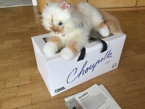 Choupette Steiff 356001  Karl Lagerfeld unbespielt limitiert Rarität OVP