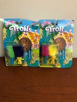 The Magical World Of Baby Trolls Vintage 1992 Lot Of Two Dual Packs