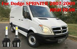 LED For Dodge SPRINTER 2007-2009 Headlight Kit H7 6000KWhite CREE Bulbs Low Beam