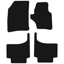 VW Touareg 2003 to 2010 Black Floor Rubber Fully Tailored Car Mats 3mm 4pc Set