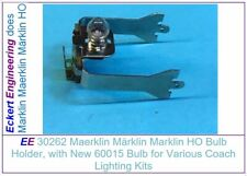 Ee 30262 Marklin Ho Bulb / Lamp Holder, with Bulb for Plastic Body Coaches