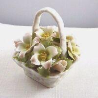 Royal Albert, Bone China Pastel Florals Dogwood Basket Ornament