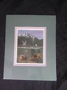 Robert W. Harley ~ Numbered Print Otter Lighthouse ~ Alaska Alaskan Images    B2