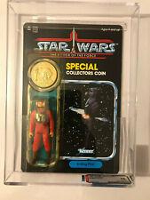 1985 Star Wars POTF 92 Back B-Wing Pilot AFA 85 MOC Unpunched
