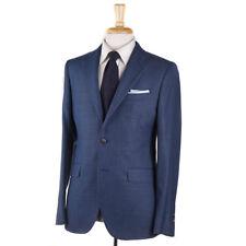 NWT $1395 BOGLIOLI 'Sforza' Teal Blue Woven Wool Sport Coat Slim 38 R (Eu 48)