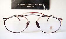 Neostyle Mozart Rare 54-20 140 Medium Bordo Music Eyeglasses Frames Mens Retro