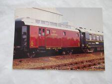 carte postale cpsm train ajecta n 35 voiture poste ajecta n al patf 41056