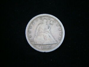 1875-S Liberty Seated Silver Twenty Cent Piece VG