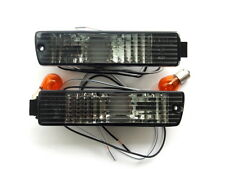 VW Golf Jetta MK2 2 Smoked Bumper Indicator Repeater Lights Lamps Turn Signals