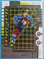 🌟 CALE MAKAR /249 🌟 2019-20 Sp Authentic Retro Future Watch Rookie RFW-3