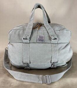 "Briggs & Riley Vintage Rare 17"" Carry On Duffle Bag Weekender 100% Cotton"