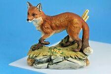"""Red Fox 6"""" Ceramic Figurine Andrea by Sadek Vintage. Model 5618."""