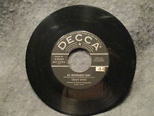 """45 RPM 7"""" Record Crazy Otto In The Mood & My Melancholy Baby Decca 9-29449 VG+"""