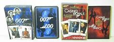 JAMES BOND 007 PLAYING CARDS – 2 packs -Casino Royale + Films 11-20