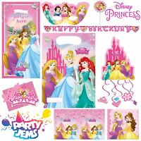 Disney Princess Dreaming Party Children's Birthday Tableware Decorations