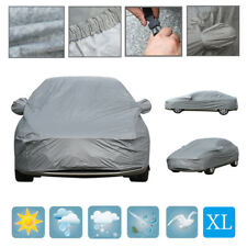 Extra Large Waterproof Full Car Cover 2 Layers Cotton Lining Scratch Proof UK