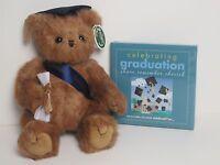 Bearington Smarty Graduation Bear With Celebrating Graduation Book NWT