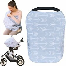Baby Car Seat Cover canopy nursing and breastfeeding cover, classical arrows