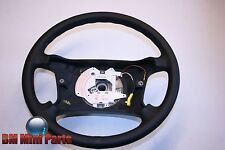BMW E34 E36 BLACK LEATHER STEERING WHEEL 32341092038