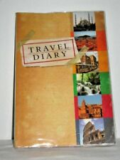 Travel Diary Colour World Map Checklists Tips & Hints For Safe Travel Language T