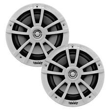 """2 x Infinity 6.5"""" 2-Way 225W Marine White Boat Loud Speakers (Bulk Packaging)"""