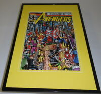 Marvel Infinity Gauntlet #1 Framed 11x17 Cover Display Official Repro Thanos