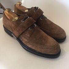 6816a99cacf Jimmy Choo Keith Kev Creepers Brown Tan Suede Shoe 44 UK 10