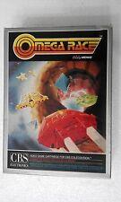 COLECOVISION CBS RETROGAME OMEGA RACE - BALLY -  RARE WBOX CBS COLECOVISION