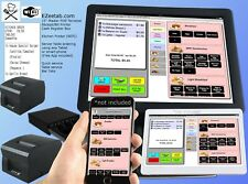Restaurant Bar POS system Point of saleregister + Order printer (isnt aldalo)