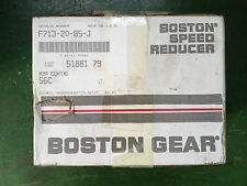 Boston Gear Gearbox 51881 F713-20-B5-J Center Distance: 1.3 Inch Ratio