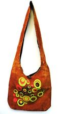 T266 NEW FASHION TRENDY SHOULDER STRAP COTTON BAG  MADE IN NEPAL
