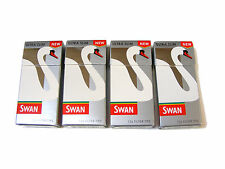 4 PACKS OF SWAN ULTRA THIN CIGARETTE ROLL UP FILTER TIPS - 504 TIPS IN TOTAL