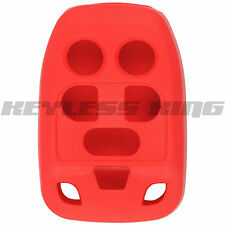 New Red Keyless Remote Head Key Fob Clicker Case Skin Jacket Cover Protector
